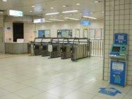 大阪天満宮駅東改札口